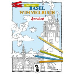 Basel Wimmelbuch - Ausmalheft