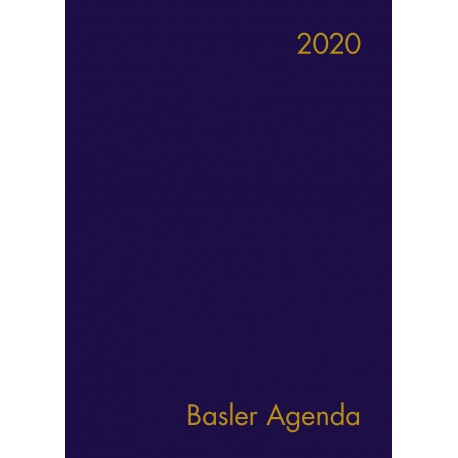 Basler Agenda 2020 (Leder)