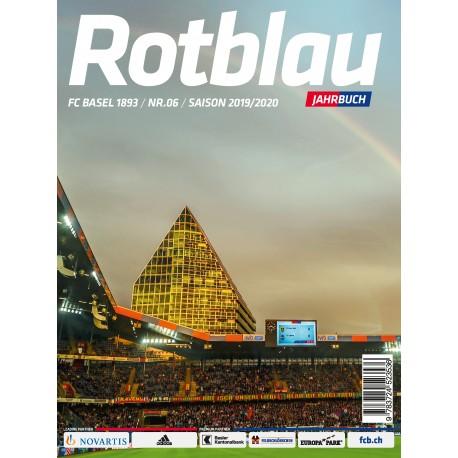 Rotblau Jahrbuch Saison 2019/2020