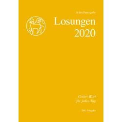 Losungen 2020 - Schreibausgabe