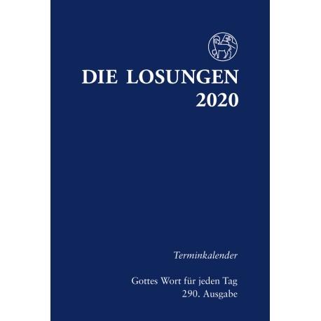 Losungen 2020 - Terminkalender