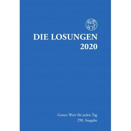 Losungen 2020 - Normalausgabe (Ausgabe für Deutschland)