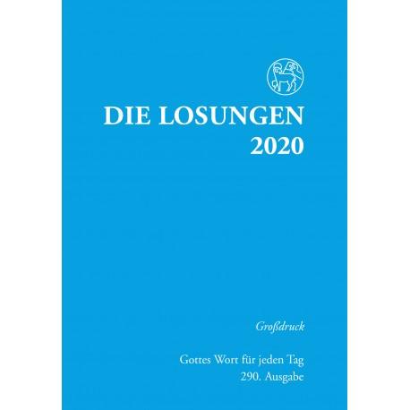 Losungen 2020 - Großdruckausgabe (Ausgabe für Deutschland)