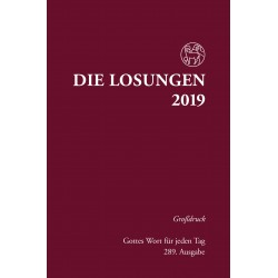 Losungen 2019 - Großdruckausgabe (Ausgabe für Deutschland)