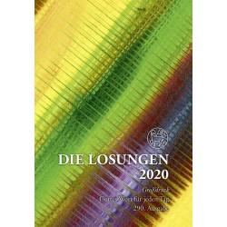 Losungen 2020 - Geschenk-Großdruckausgabe (Ausgabe für Deutschland)