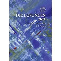 Losungen 2021 - Geschenk-Normalausgabe (Ausgabe für Deutschland)