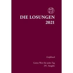 Losungen 2021 - Großdruckausgabe (Ausgabe für Deutschland)