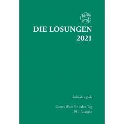 Losungen 2021 - Schreibausgabe (Ausgabe für Deutschland)