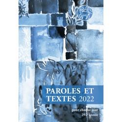 Losungen 2022 - Paroles et Textes