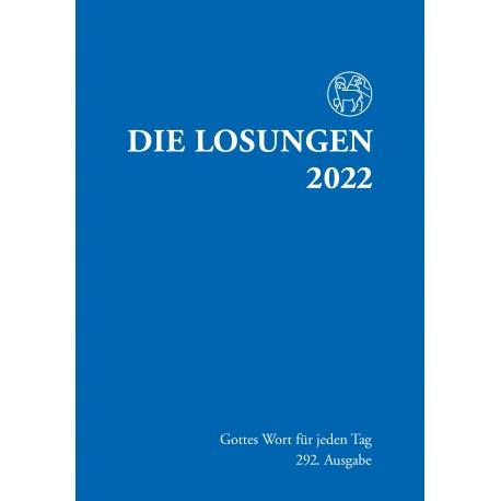 Losungen 2022 - Normalausgabe (Ausgabe für Deutschland)