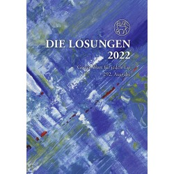Losungen 2022 - Geschenk-Normalausgabe (Ausgabe für Deutschland)