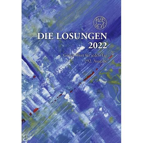 Losungen 2022- Geschenk-Normalausgabe (Ausgabe für Deutschland)