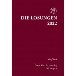 Losungen 2022 - Großdruckausgabe (Ausgabe für Deutschland)