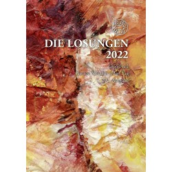 Losungen 2022 - Geschenk-Großdruckausgabe (Ausgabe für Deutschland)