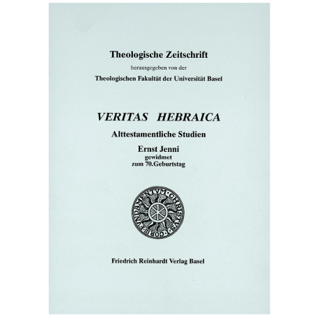 Veritas hebraica. Alttestamentliche Studien