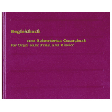 Begleitbuch für Orgel ohne Pedal und Klavier