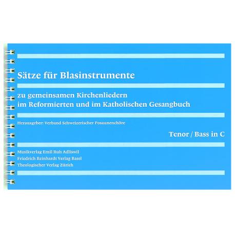 Sätze für Blasinstrumente – Stimmhefte.  3./4. Stimme in C: Fagott, Bariton in C, Posaune in C