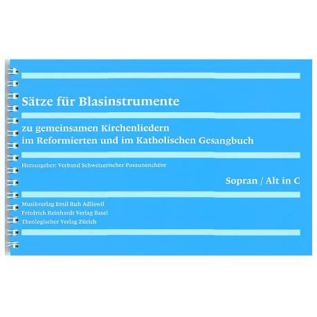 Sätze für Blasinstrumente – Stimmhefte.  1. Stimme in C: Flöte, Oboe