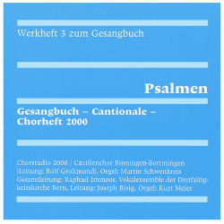 CD zum Werkheft 3: Psalmen