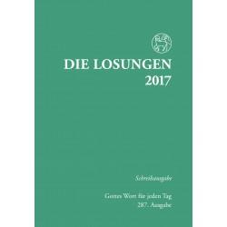 Losungen 2017 - Schreibausgabe (Ausgabe für Deutschland)