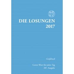 Losungen 2017 - Großdruckausgabe (Ausgabe für Deutschland)