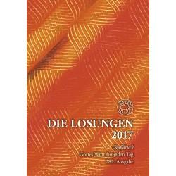 Losungen 2017 - Geschenk-Großdruckausgabe (Ausgabe für Deutschland)
