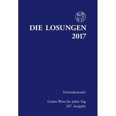 Losungen 2017. Terminkalender