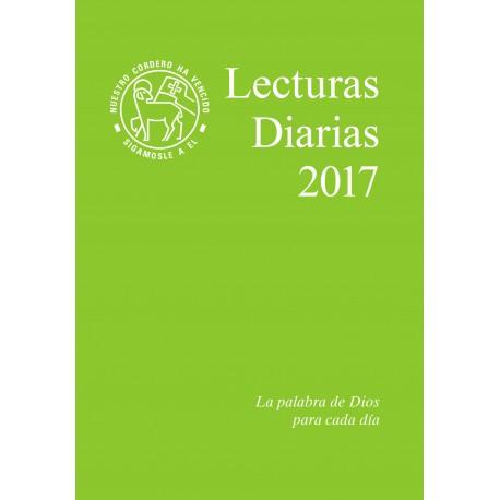 Losungen 2017. Lecturas Diarias