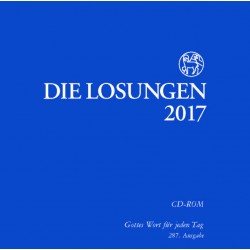 Losungen 2017. Losungs-CD