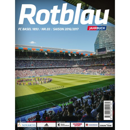 Rotblau Jahrbuch Saison 2016/2017