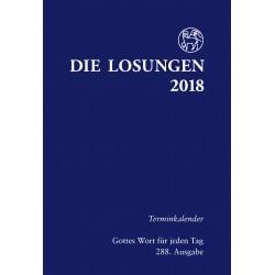 Losungen 2018 - Terminkalender