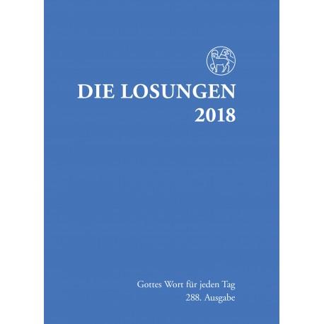 Losungen 2018. Normalausgabe (Ausgabe für Deutschland)