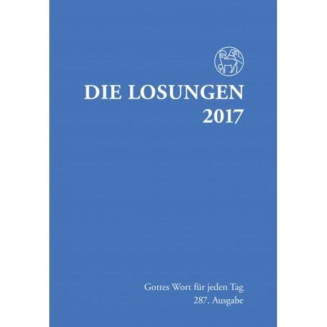 Losungen 2017. Normalausgabe (Ausgabe für Deutschland)
