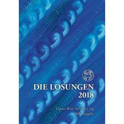 Losungen 2018 - Geschenk-Normalausgabe (Ausgabe für Deutschland)