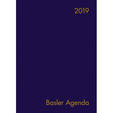 Basler Agenda 2019 (Plastik)