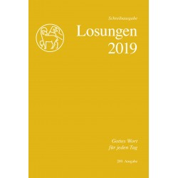 Losungen 2019 - Schreibausgabe