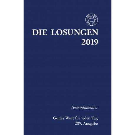 Losungen 2019 - Terminkalender