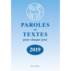 Losungen 2019 - Paroles et Textes