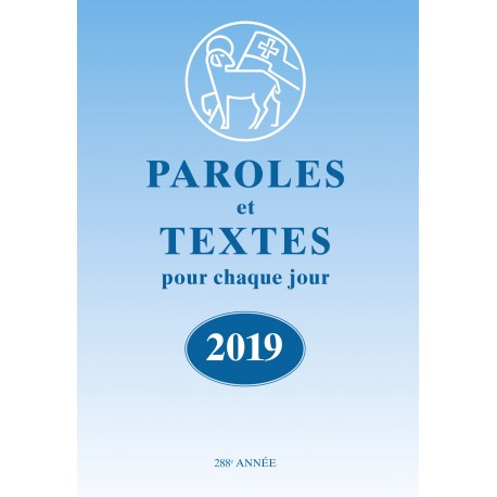 Losungen 2019 - Paroles et Textes