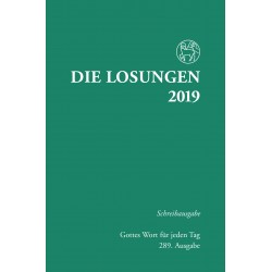 Losungen 2019 - Schreibausgabe (Ausgabe für Deutschland)