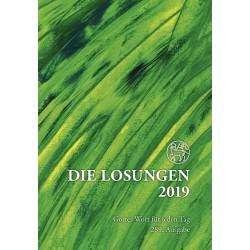 Losungen 2019 - Geschenk-Normalausgabe (Ausgabe für Deutschland)