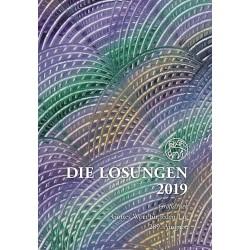Losungen 2019 - Geschenk-Großdruckausgabe (Ausgabe für Deutschland)