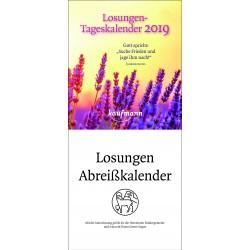 Losungen 2019 - Abreisskalender
