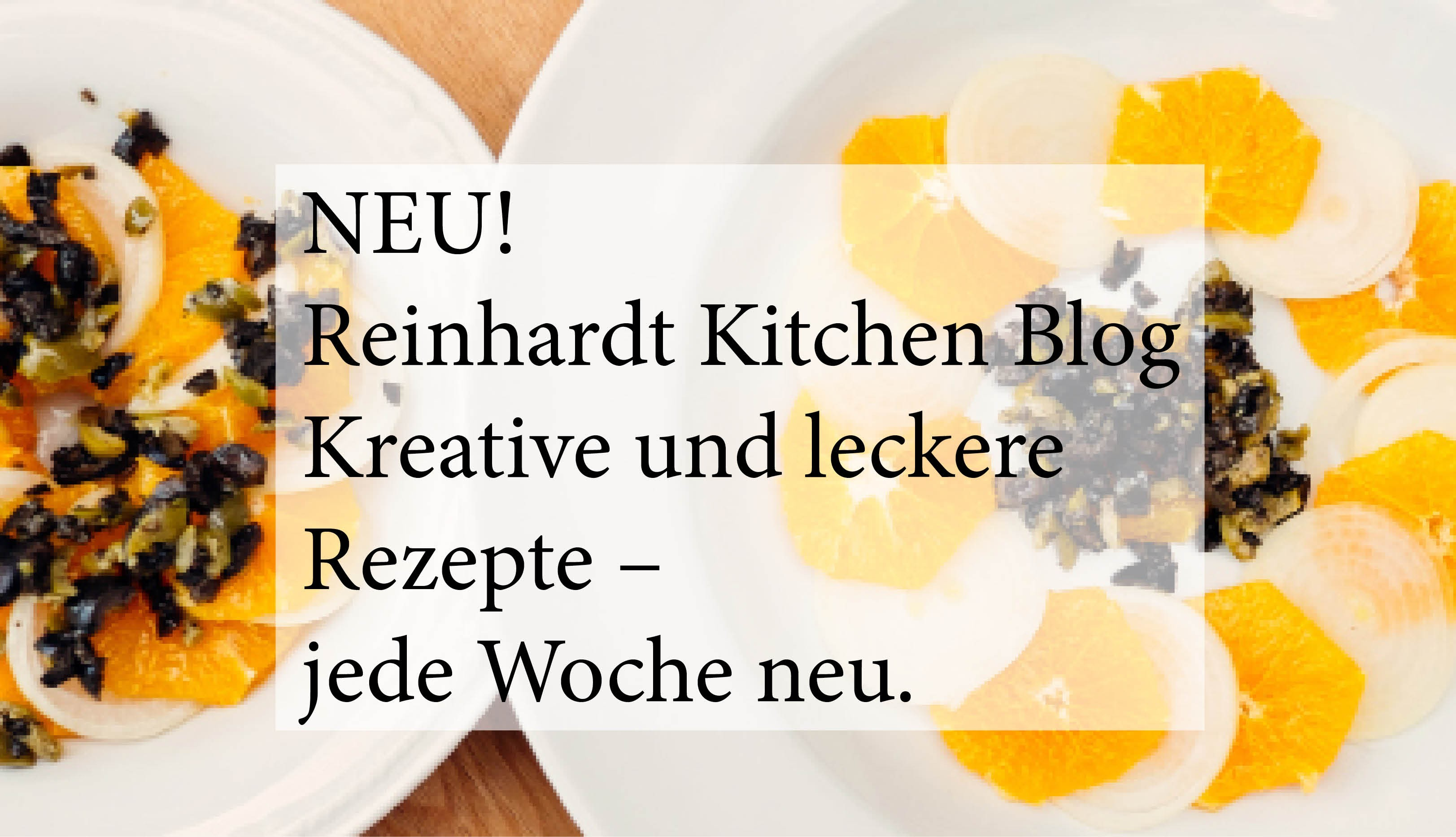 Reinhardt Kitchen Blog