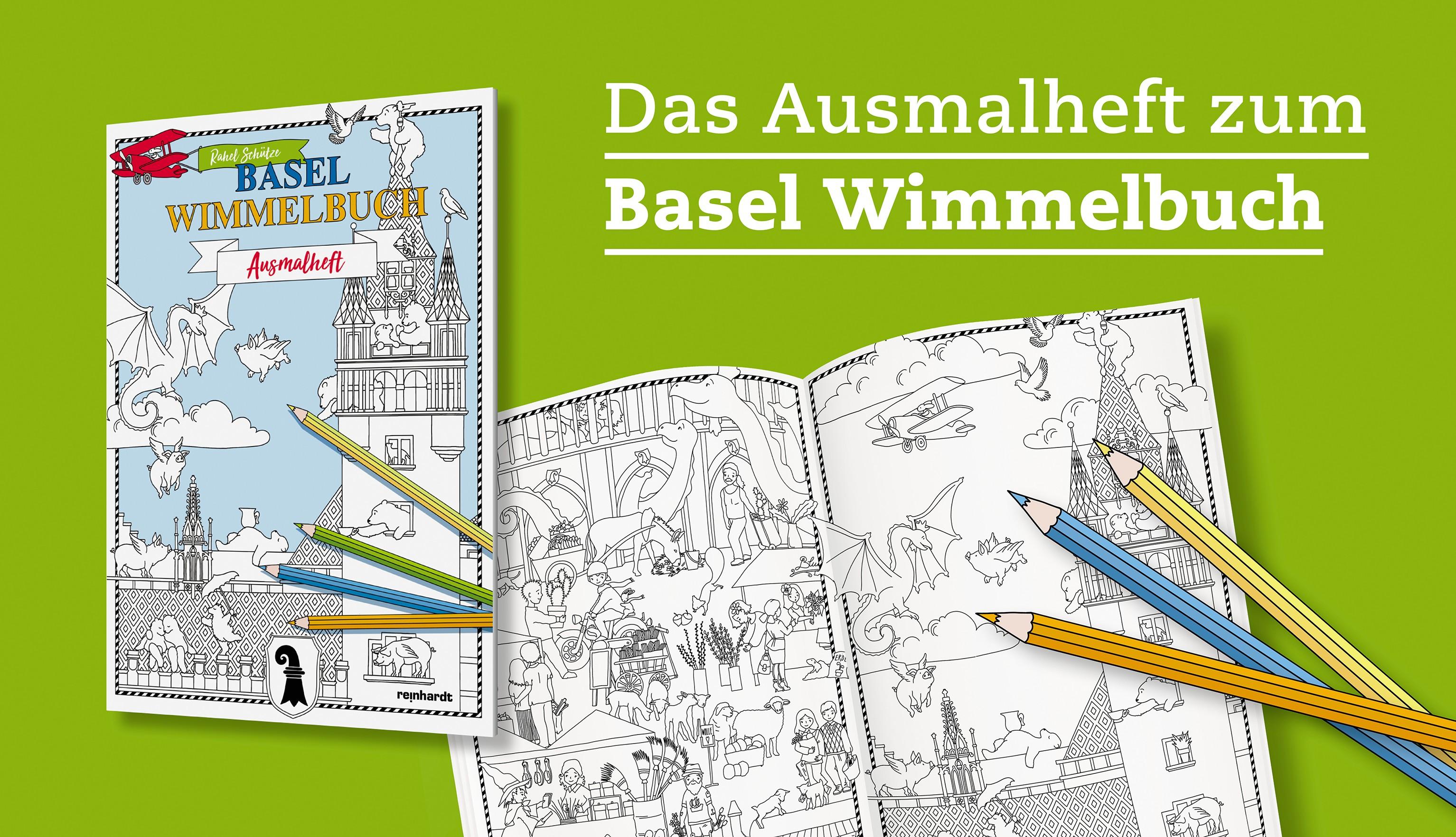 Wimmelbuch - Ausmalheft
