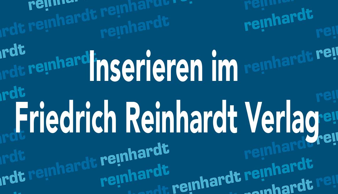 Friedrich Reinhardt Inserate